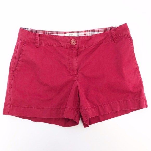 LOFT Pants - 🌈 ann taylor loft | red chino khaki shorts sz 6